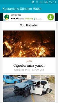Kastamonu Gündem Haber apk screenshot