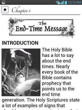 The Message of The Hour apk screenshot