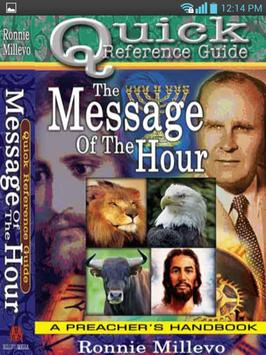 The Message of The Hour poster
