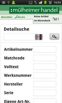 Mülheimer Handel Haustechnik apk screenshot