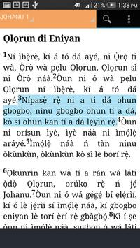 BIBELI MIMỌ (Yoruba Bible) apk screenshot