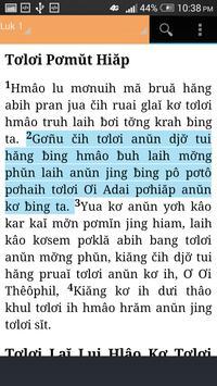 Jarai Bible apk screenshot