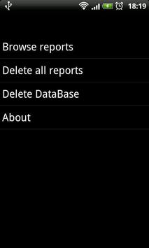 Call Log Report Generator apk screenshot
