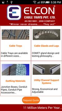 Elcon Cable Trays poster