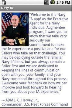 Navy IA apk screenshot