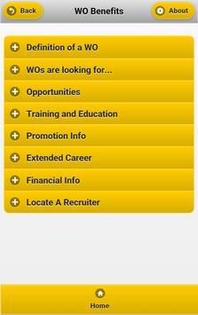 WO Recruiting apk screenshot
