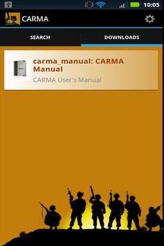 CARMA apk screenshot