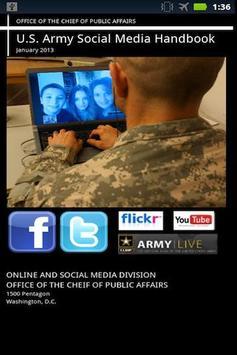 US Army Social Media Handbook poster