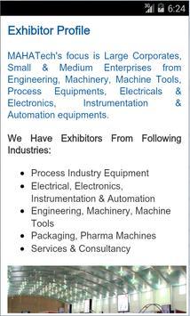 Mahatech Industrial Exhibition apk screenshot