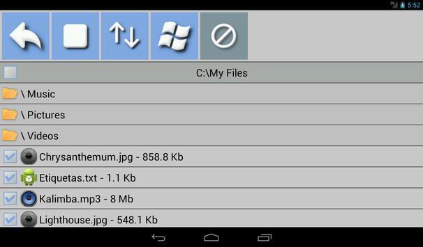File Transfer Lite apk screenshot