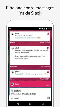 WhereDat - Enterprise Search apk screenshot