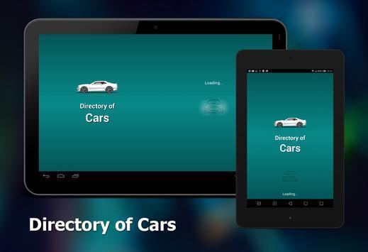Directory of cars apk screenshot