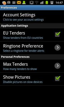 tenders.com.mt apk screenshot