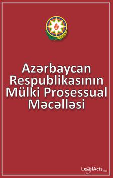Civil Procedure Code of Azerb poster