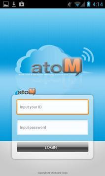 atoM, Advanced Enterprise SNS apk screenshot
