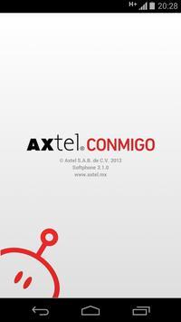 AXTEL Conmigo poster