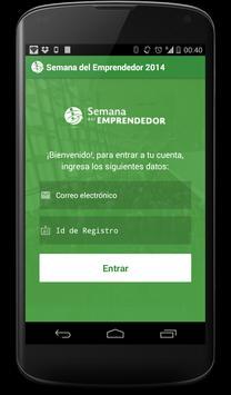 Semana del Emprendedor 2014 apk screenshot