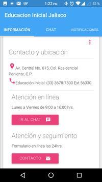 Educación Inicial Jalisco apk screenshot