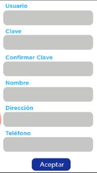 Valores en servicio apk screenshot