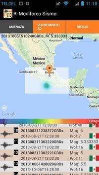 R-Monitoreo Sismo apk screenshot