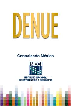 DENUE poster