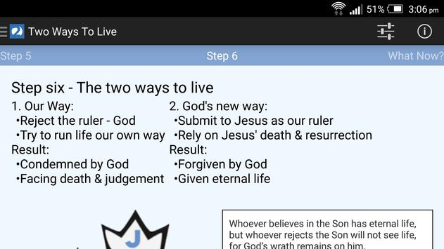 Two Ways To Live apk screenshot