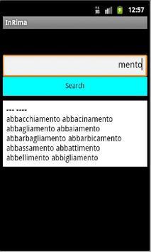 InRima apk screenshot