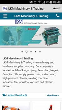 LKMmachinery.com.my poster
