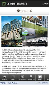 Chester Properties poster