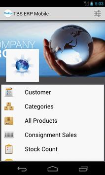 TBS ERP CRM Mobile poster