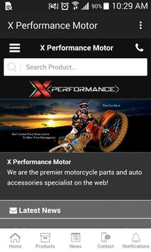X Performance Motor poster
