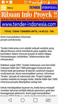 TENDER INDONESIA poster