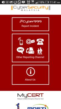 Cyber999 Mobile Application poster