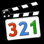 321 Media Player ícone