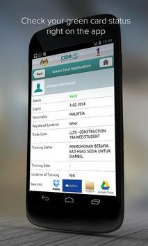 CIDB apk screenshot