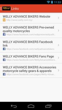 WELLY ADVANCE BIKERS SDN BHD apk screenshot