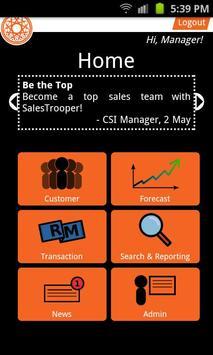 SalesTrooper Premium poster