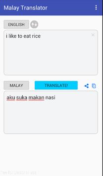 English Malay Translator Free poster