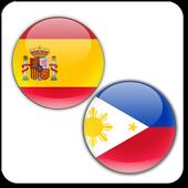 Tagalog Spanish Translator icon