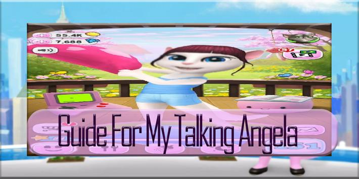 Tips My Talking My Angela poster