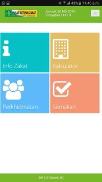 ZakatKLIK! poster