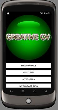 Creative CV App apk screenshot