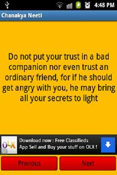 Chanakya Neeti (FREE) apk screenshot