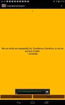 Inspirational Sayings Quotes apk screenshot