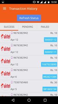 Myrecharges India apk screenshot