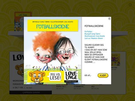 Løveunge apk screenshot