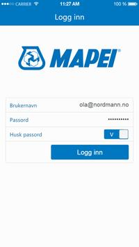 Mapei – app for ansatte apk screenshot