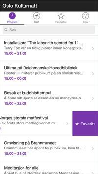 Kulturnatt apk screenshot