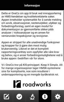Roadworks HSEQ apk screenshot