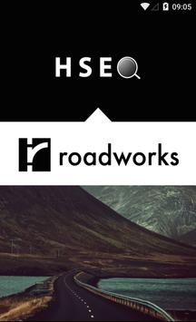 Roadworks HSEQ poster